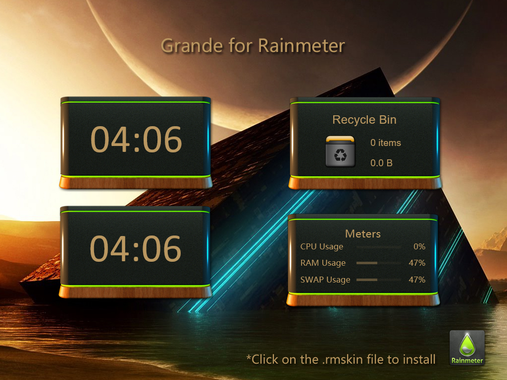 Grande for Rainmeter