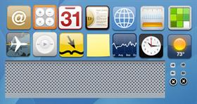 MacOS X - Dashboard Icons & Graphics
