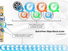 QuickTime ObjectDock Icons