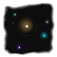 Glowworms Screensaver