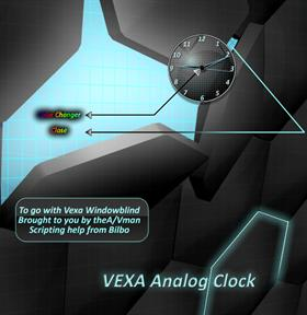 Vexa Analog clock