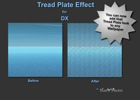 Tread Plate Effect