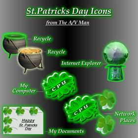 Community Challenge: St Patrick's Day Icons