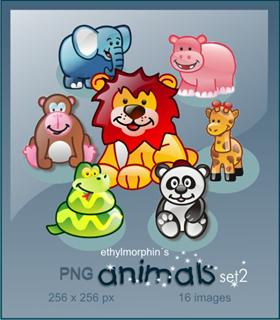 animals set 2