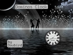 Dominos Clock