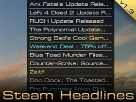 Steam Headlines