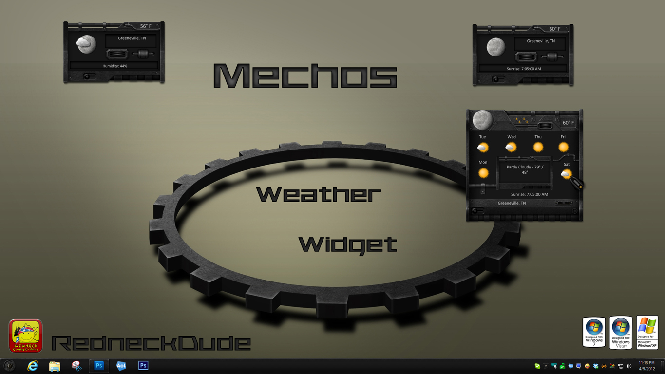 Mechos Weather Widget