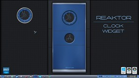 Reaktor Clock Widget