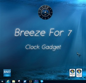 Breeze For 7 Clock Gadget