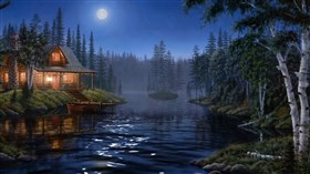 Forest River Cabin