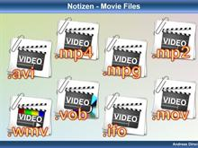 Notizen: Video Files