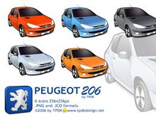 Peugeot 206 Icon Pack