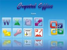 Crystal Office Icons