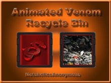 Venom Animated Recycle Bin