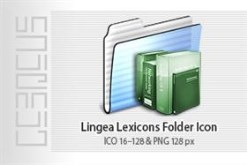 Lingea Lexicons Folder Icon