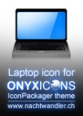 ONYXICONS Laptop Icon